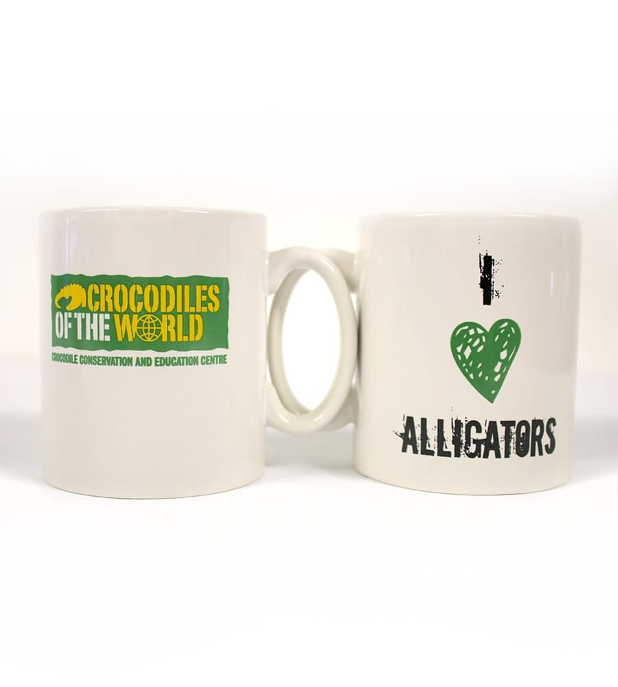 'I Heart Alligators' Mug
