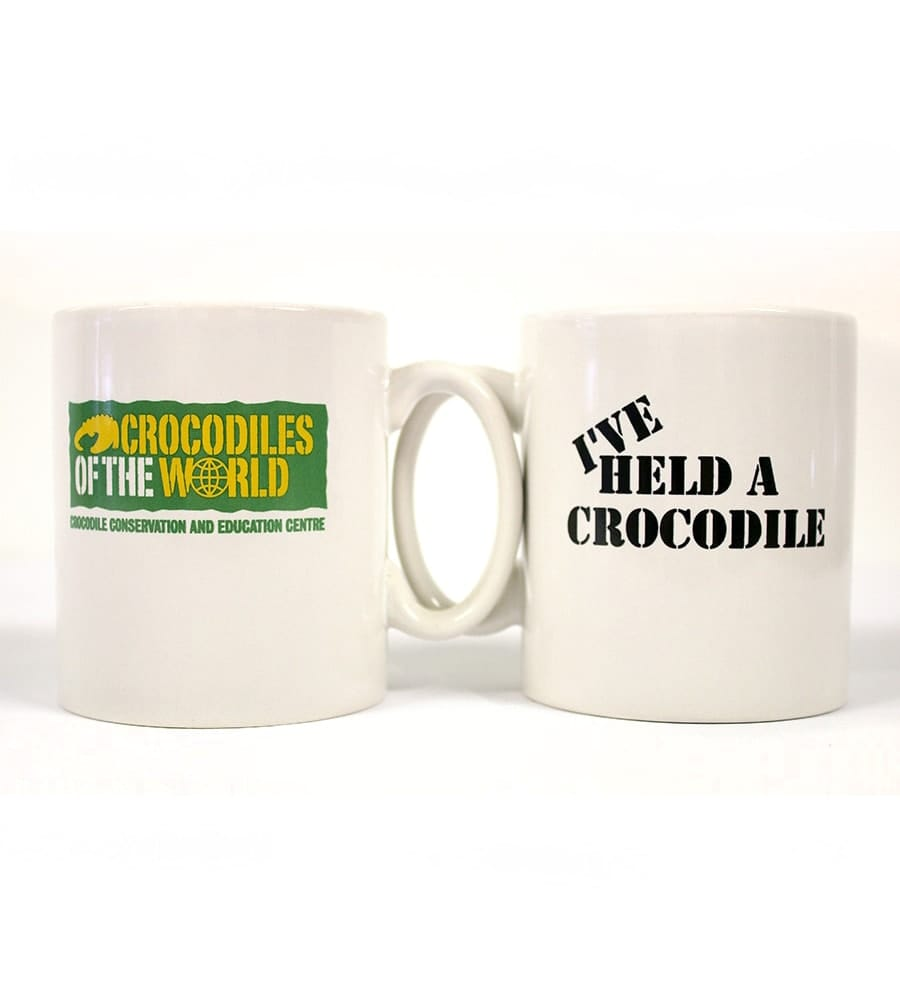 'I've Held A Crocodile' Mug