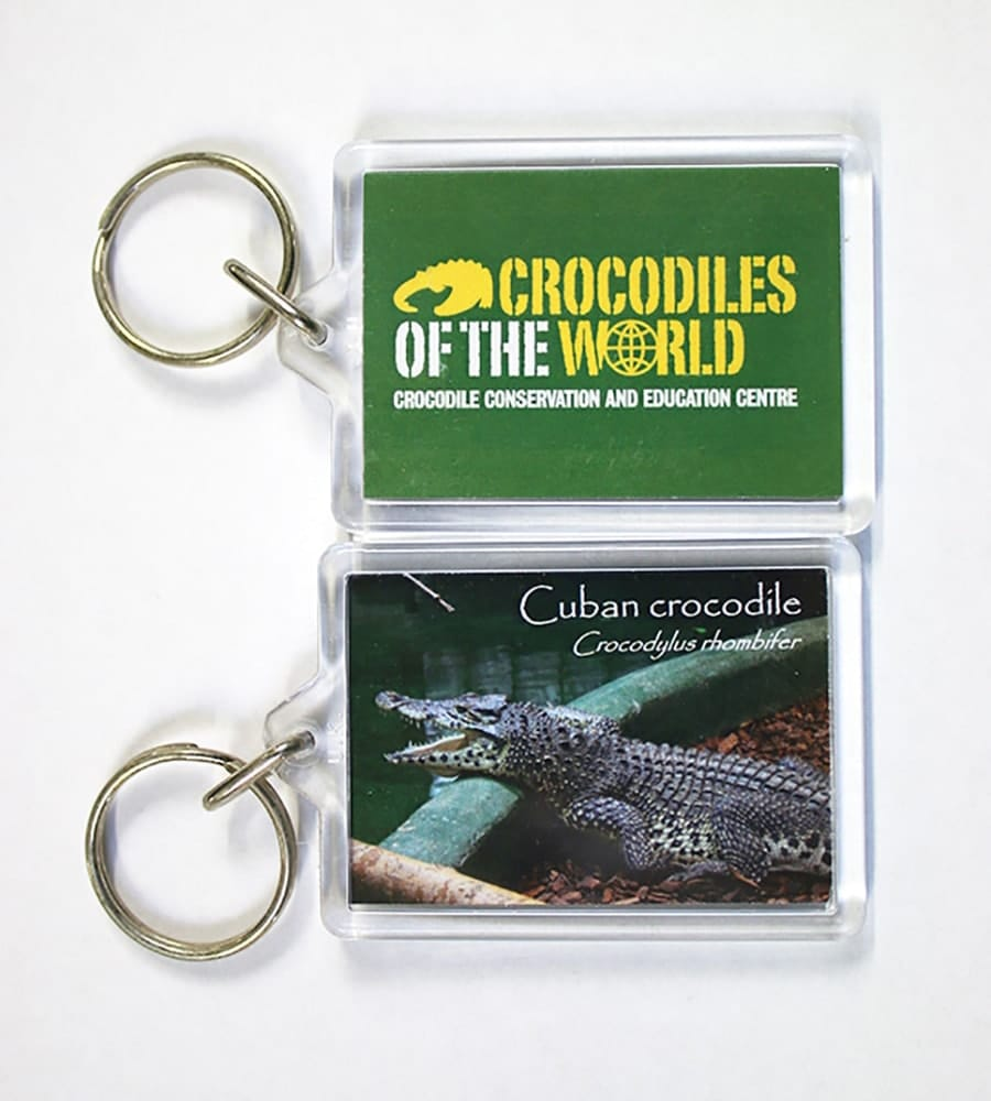Cuban Crocodile Keyring
