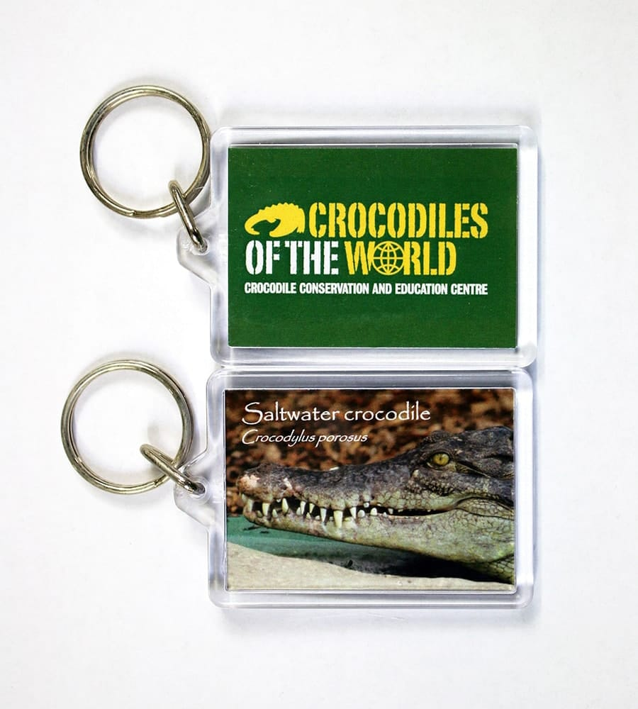 Saltwater Mouth Closed Keyring