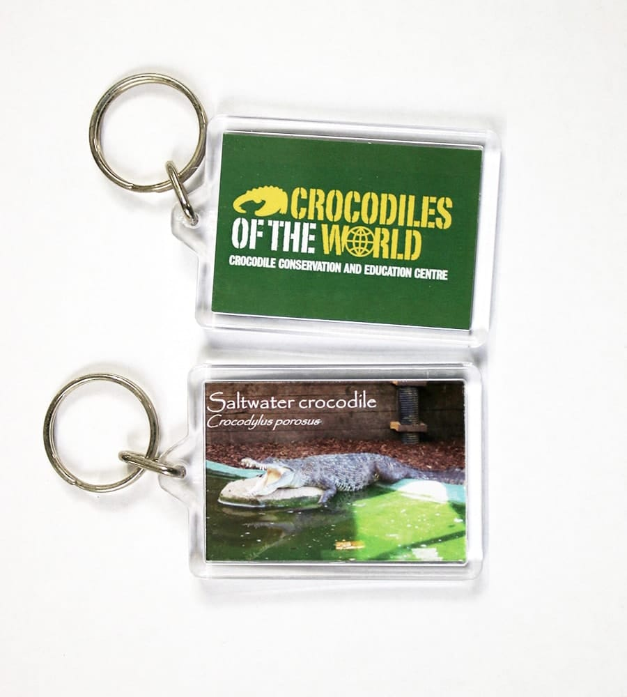 Saltwater Mouth Open Keyring