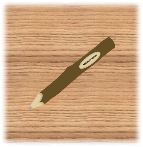 COTW Logo Twig Pen