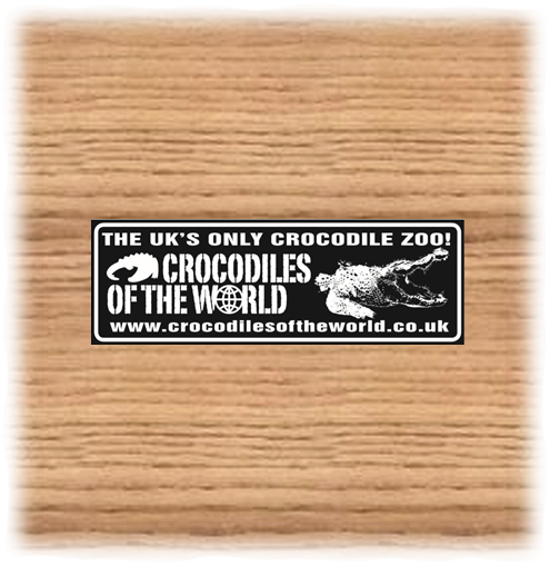 COTW B&W Car Sticker